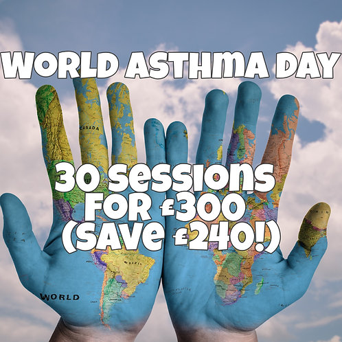 30 Salt Therapy Sessions (World Asthma Day Special)