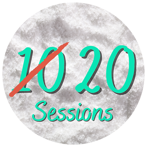10 Salt Therapy Sessions (Buy one Get One Free)
