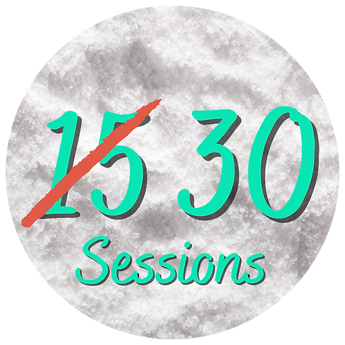 15 sessions (Buy one Get One Free)