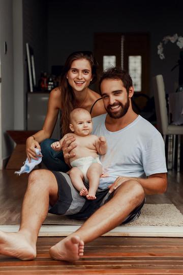 Bruna e Família