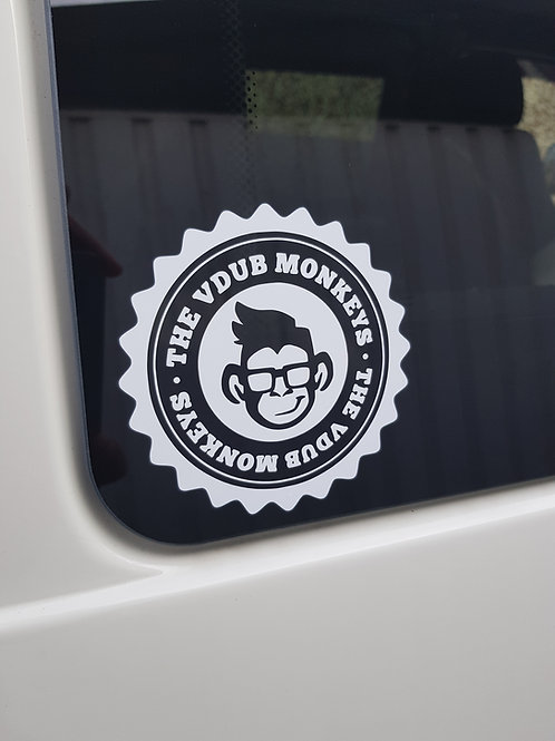 THE VDUB MONKEYS STICKER