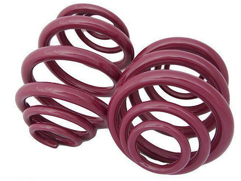 T4 VOGTLAND LOWERING SPRINGS WITH 3MM POLY SHIMS (50MM+ DROP)