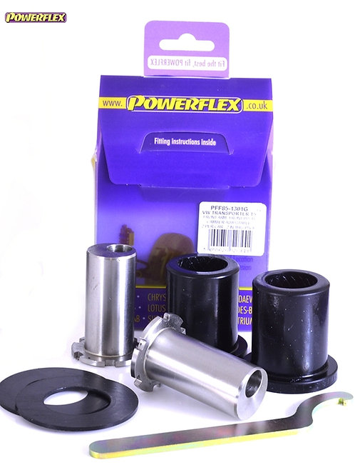 T5 POWERFLEX CAMBER ADJUSTABLE FRONT ARM FRONT BUSHES INC. 4MOTION (2003-2015)