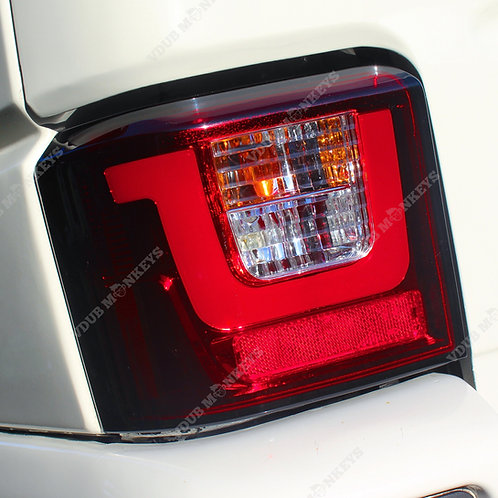 T4 LIGHT BAR TAIL LIGHTS - RED