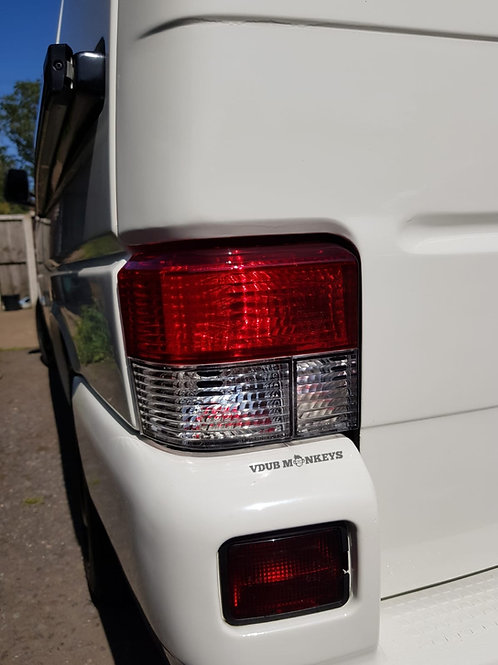 T4 REAR LIGHTS RED/CLEAR