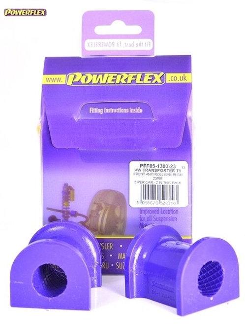 T5 POWERFLEX FRONT ANTI ROLL BAR BUSHES 23MM