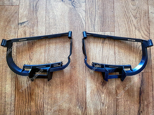 VW T4 GENUINE FRONT FOG LIGHT BRACKETS 96-03