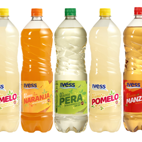 Agua saborizada IVESS 1.5lts