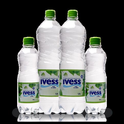 Agua en botellas IVESS