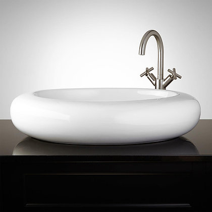Lavamanos Porcelana - Oval