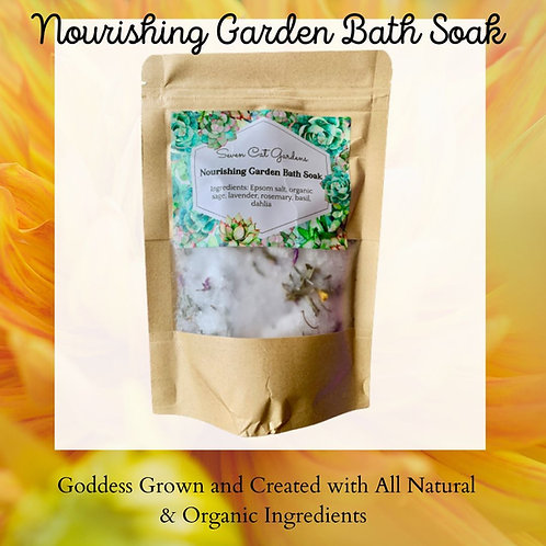 Nourishing Garden Bath Soak Salts