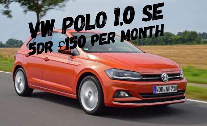 VW Polo 1.0 SE £150 per month