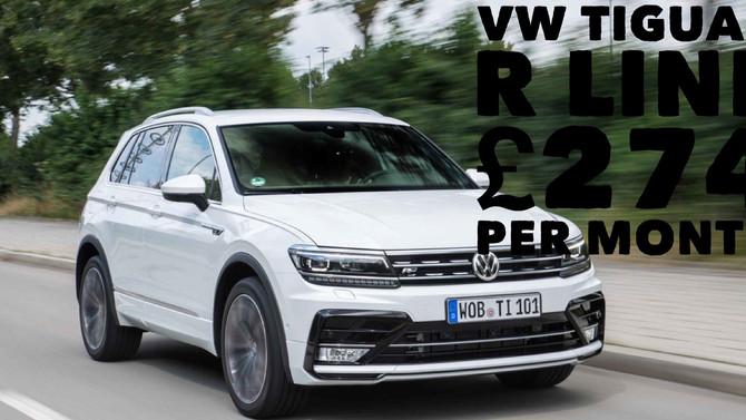 VW Tiguan R Line £274per month