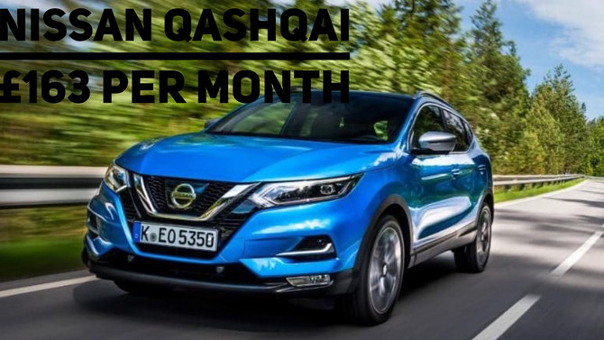 Nissan Qashqai 1.2 DiG T £163 per month