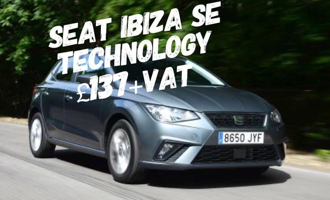 SEAT Ibiza SE Technology £137+Vat