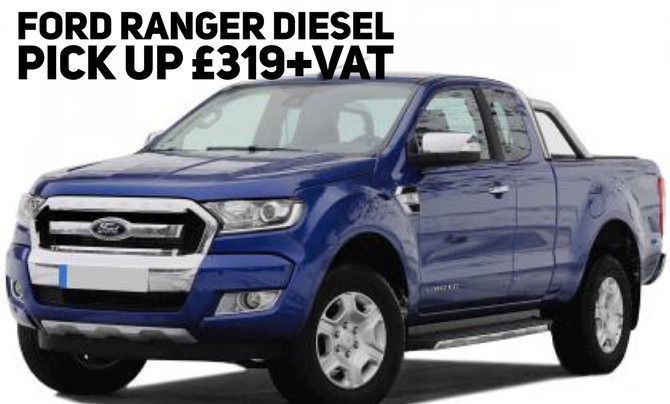 Ford Ranger Diesel Pick Up £319+Vat per month