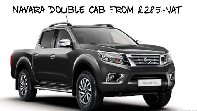 Navara Tekna Double Cab £285+Vat