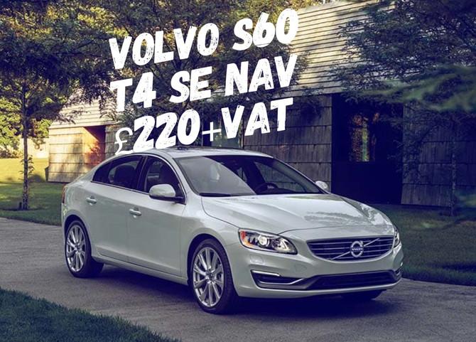 Volvo S60 T4 SE NAV £220+Vat
