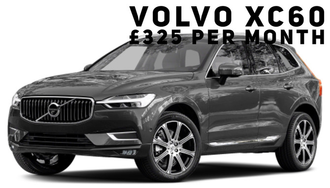 Volvo XC60 D4 Momentum £325 per month