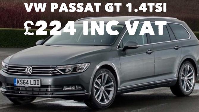 VW Passat GT 1.4TSi Pan Roof £224 per month