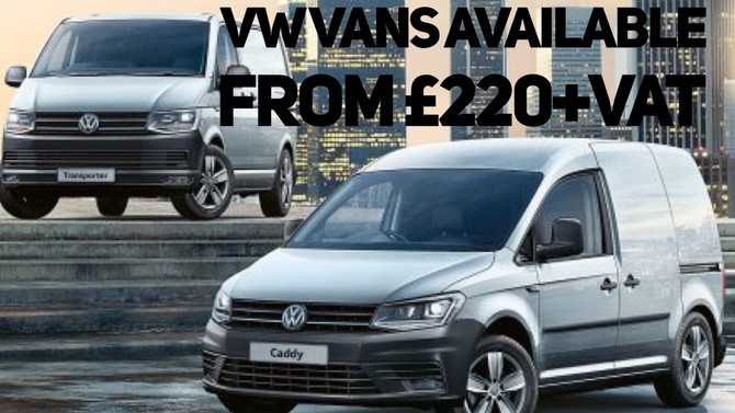 VW Vans Available From £220+Vat