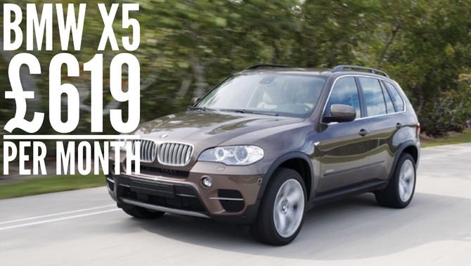 BMW X5 xDrive M sport £619 per month