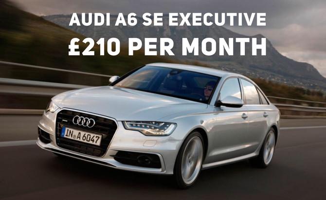 Audi A6 SEExecutive £210+Vat