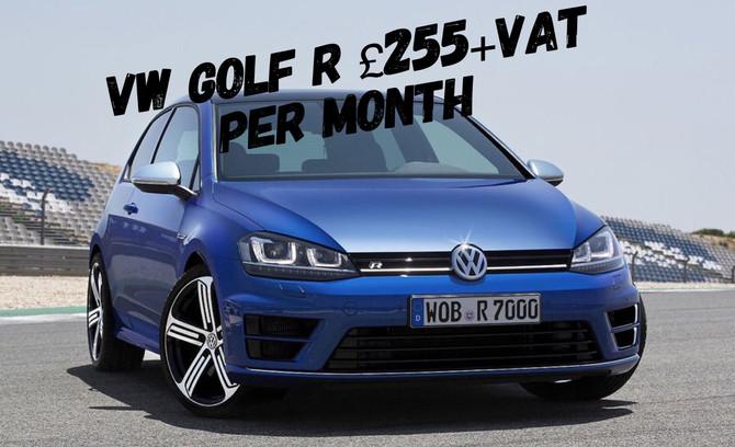 VW Golf R 2.0TSi 310ps £255+Vat