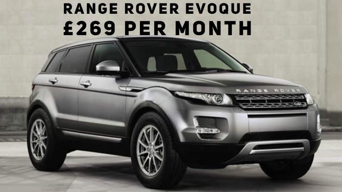 Range Rover Evoque eD4 SE £269+Vat