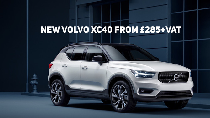 New Volvo XC40 D4 First Edition From £285+Vat
