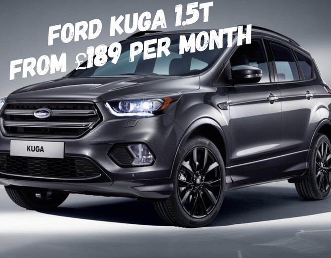 Ford Kuga 1.5T From £189 per month