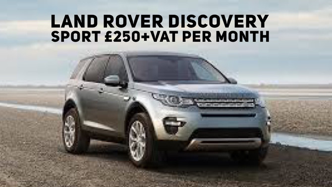 Land Rover Discovery Sport £250+Vat per month