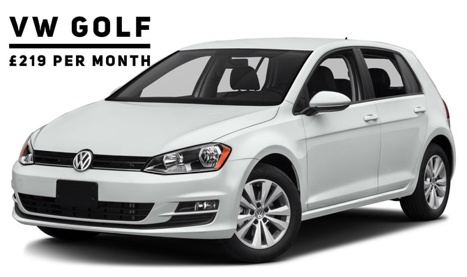 VW Golf 1.4 TSI SE (nav) £219 per month