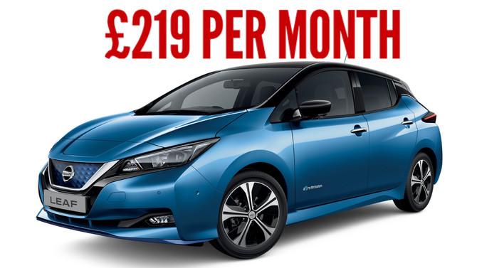 Nissan Leaf Acenta 40kwFull Electric