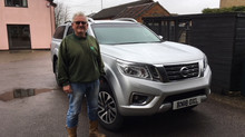 Local company receiving their new Nissan Navara
