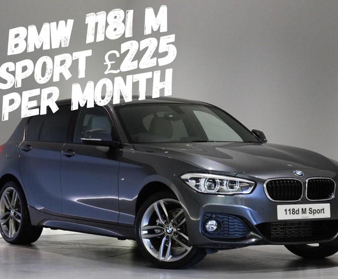 BMW 118i M Sport £225 per month