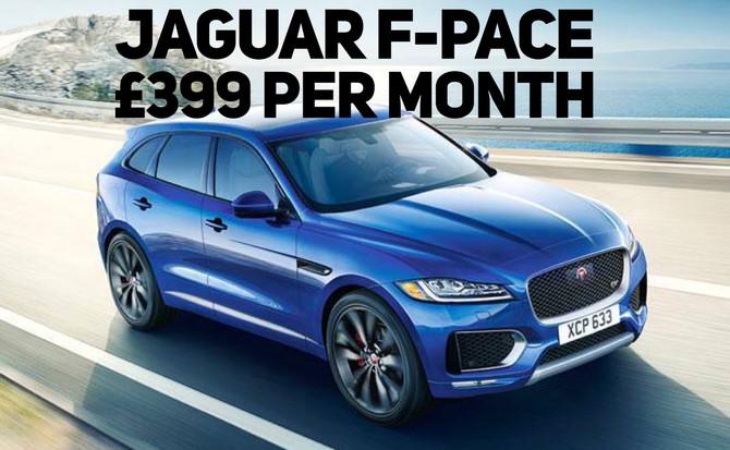 Jaguar F-Pace Diesel Prestige £399 per month