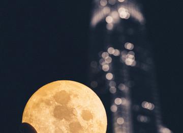 The Halloween Full Blue Moon