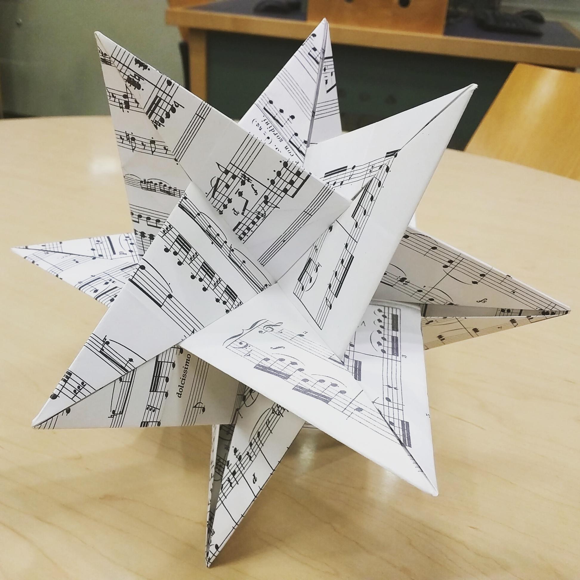 Origami Model: WXYZ