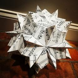 Origami Model: Luminescence