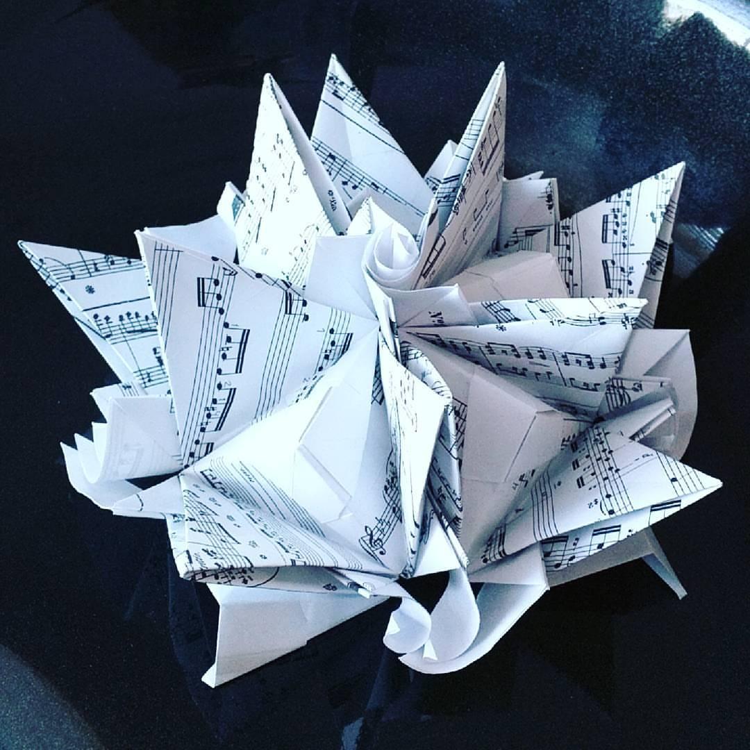 Origami Model: Fairy Centerpiece