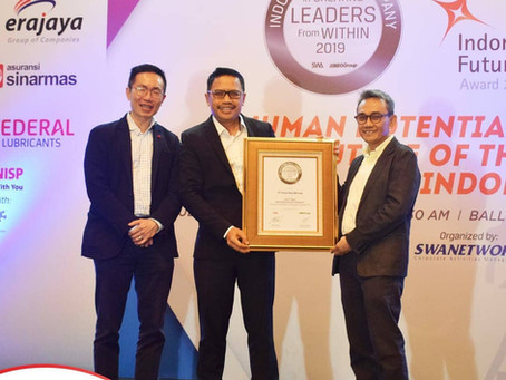 Sinar Mas Mining Raih Indonesia Best Companies In Creating Leaders From Within Award 2019