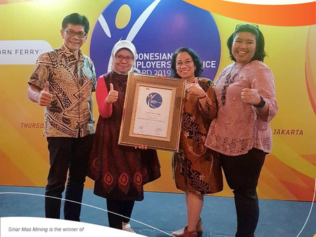 Sinar Mas Mining Sabet Penghargaan Indonesian Employers of Choice Awards 2019