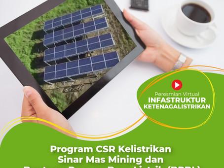 Peresmian Virtual Program CSR Sinar Mas Mining oleh Menteri ESDM