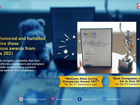"""Again This Year, SMM Wins """"WeCare: Most Caring Companies Award 2021"""" from HR Asia"""