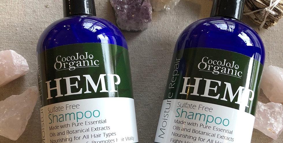 All organic Hemp Infused Shampoo