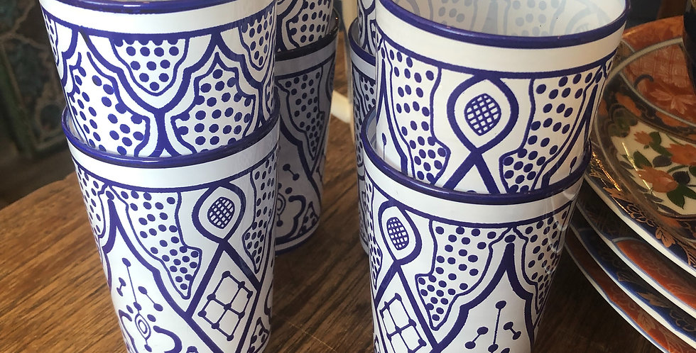 Morrocan Inspired Water glasses