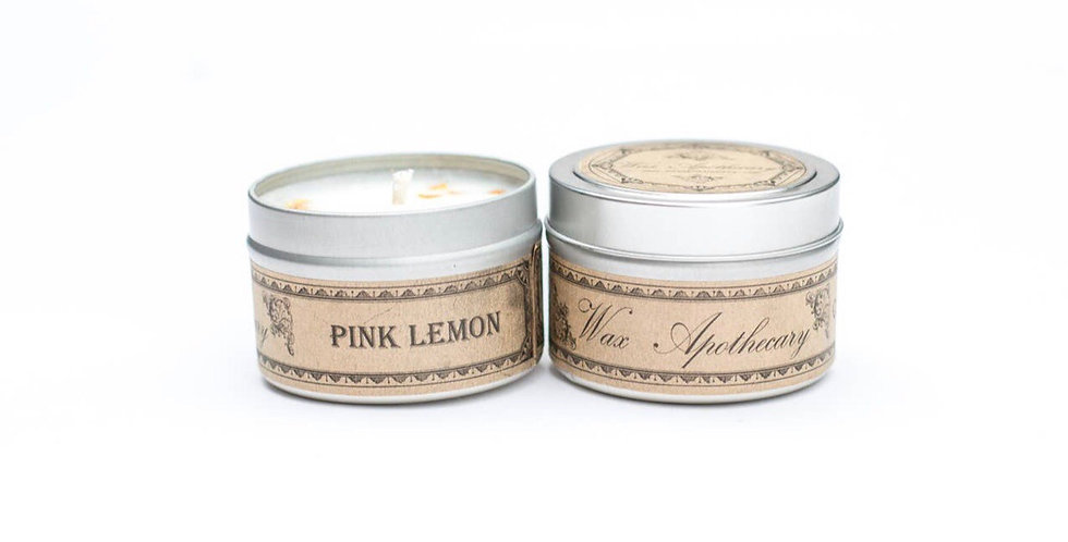 Pink Lemon Candle All natural
