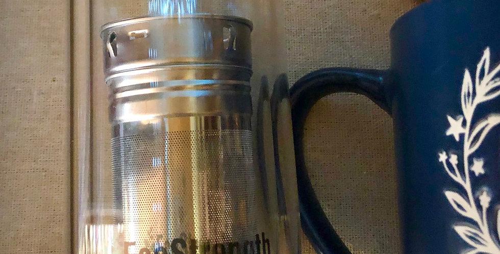Eco Strength Glass Tea Togo Tumbler