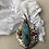 Thumbnail: Beautiful Large Turquoise with Indian Rubies and SiLveR